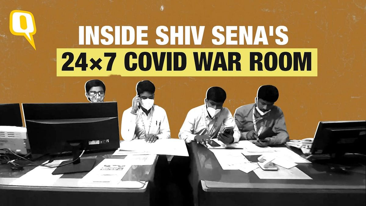 """<div class=""""paragraphs""""><p>The war room operates 24 x 7 and with about 15 volunteers working in three shifts.</p></div>"""