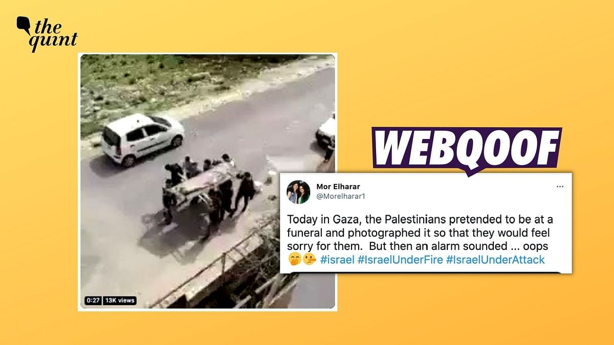 2020 Clip From Jordan Passed Off as Palestinians Faking Casualties