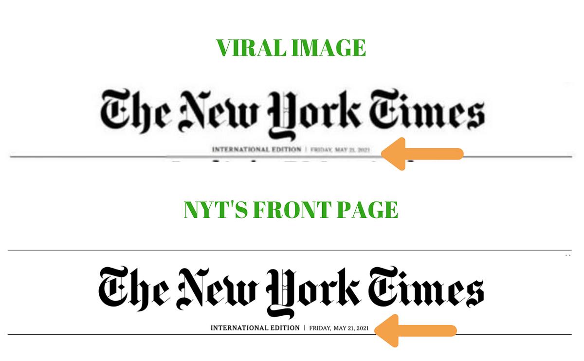 NYT Used Crocodile's Pic to Say PM Modi Cried? No, It's Fake News!