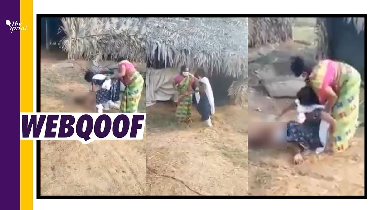 Video of Girl Trying to Give Water to COVID+ Father is Not From WB