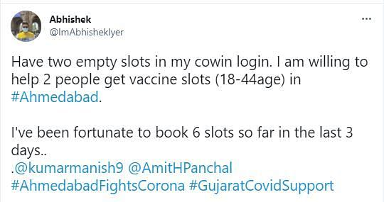 How I Booked 30 Vaccine Slots in Ahmedabad on CoWIN To Help Locals