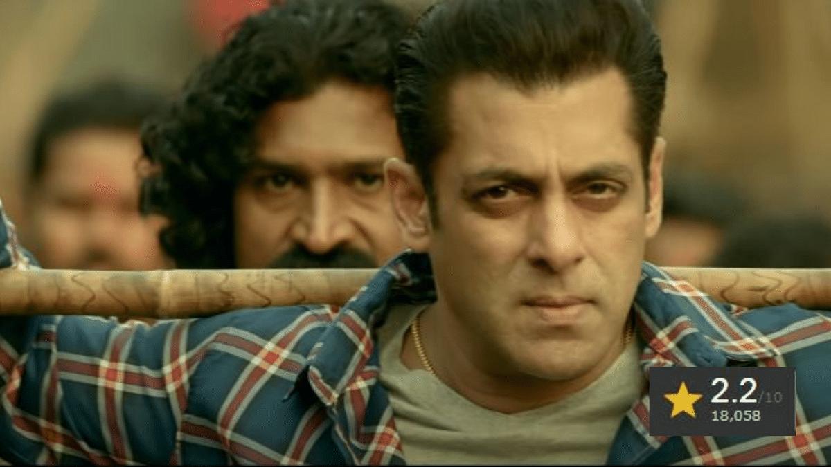 "<div class=""paragraphs""><p>Salman Khan's film 'Radhe' has an IMDb rating on 2.2</p></div>"