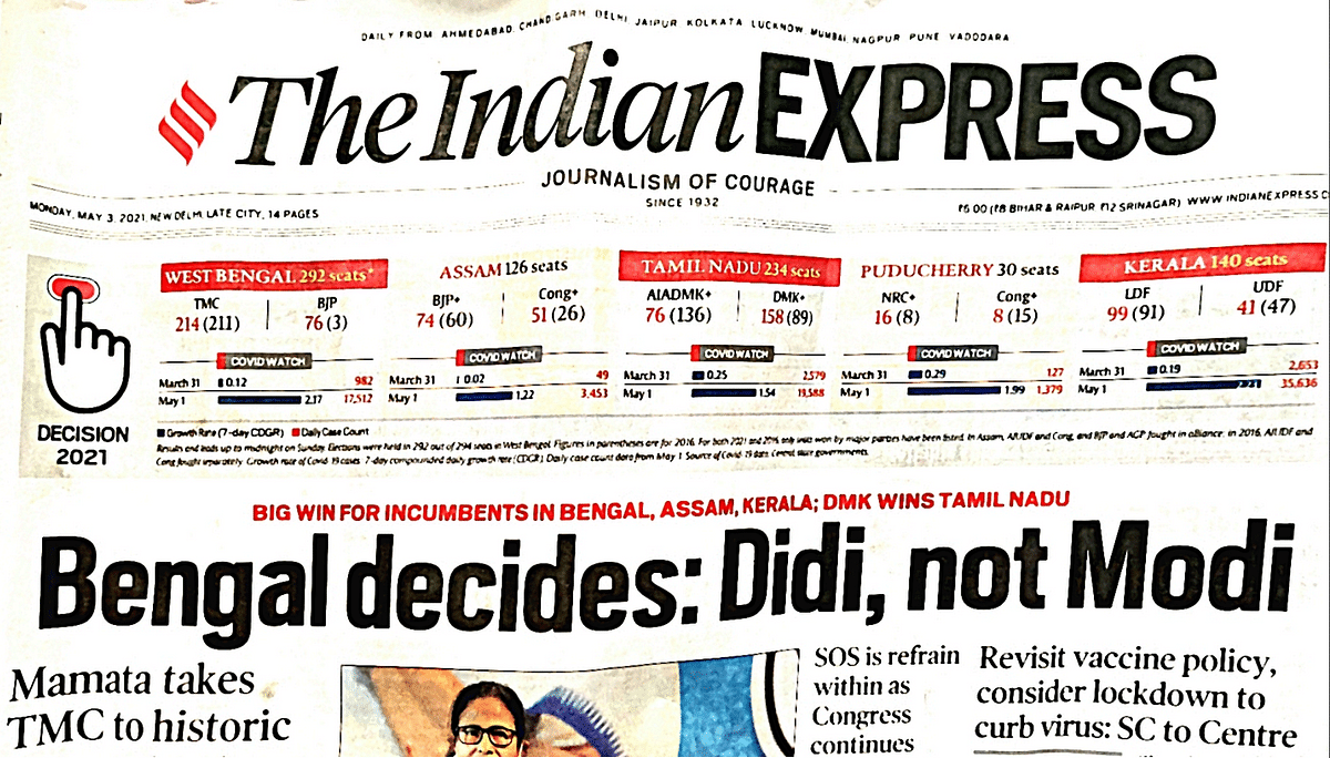 'DIDI'S DAY': How Newspapers Looked Day After Mamata's Win