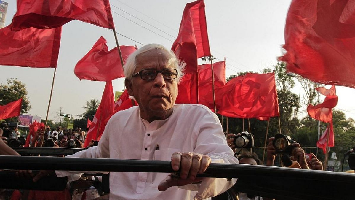 Former West Bengal CM Buddhadeb Bhattacharya.