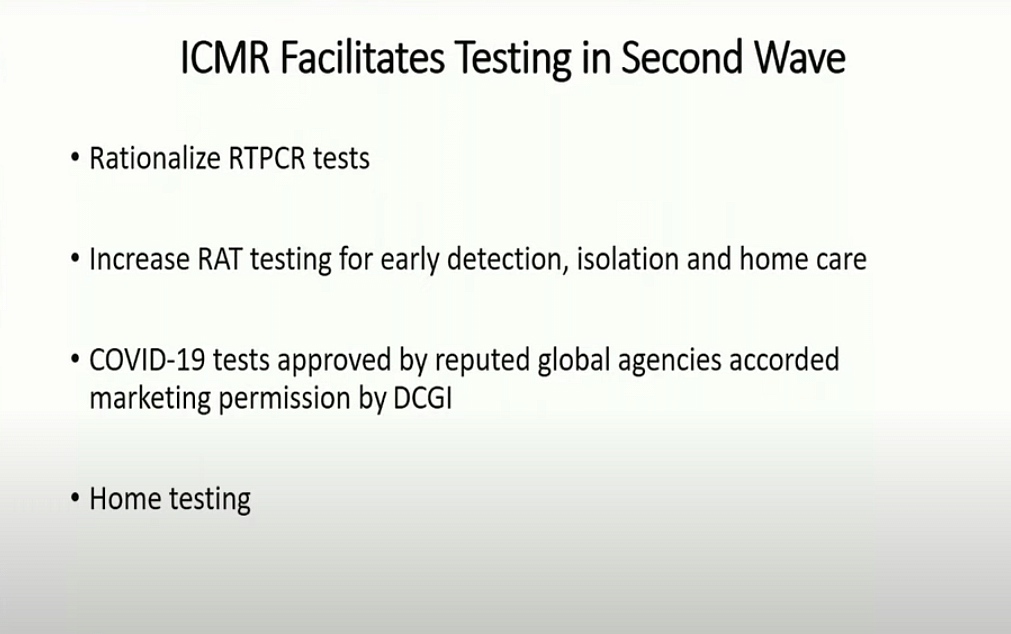 Govt Plan Changes, RT-PCR Tests to Be 40% of All Tests by June End
