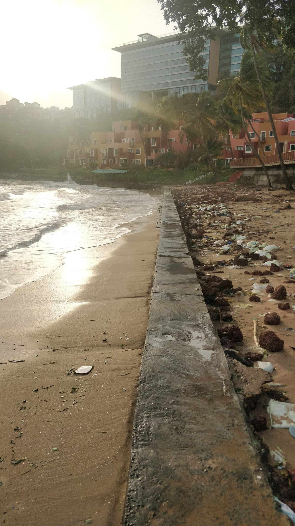 Concrete Wall at Goa's Vainguinim Beach: Why Locals Are Protesting