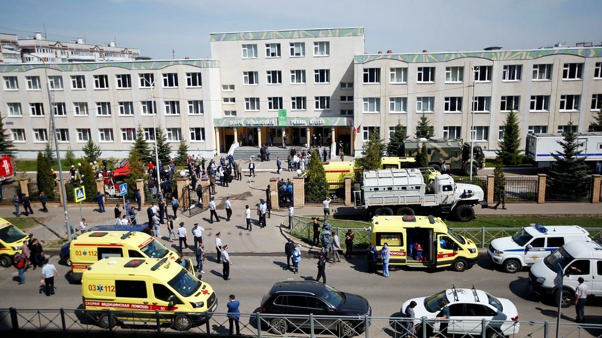 Nine, Including 7 Children, Killed in Shooting at Russia School