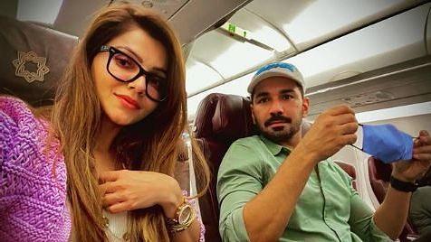"<div class=""paragraphs""><p>Rubina Dilaik with husband Abhinav Shukla</p></div>"
