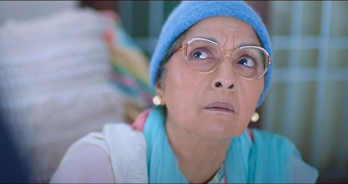 Neena Gupta as Sardar Kaur in <i>Sardar Ka Grandson.</i>