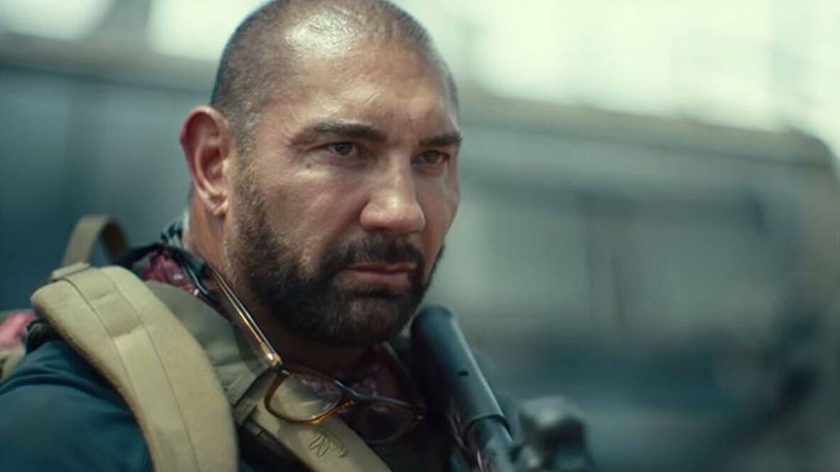 """<div class=""""paragraphs""""><p>Dave Bautista in a still from Army of the Dead.</p></div>"""