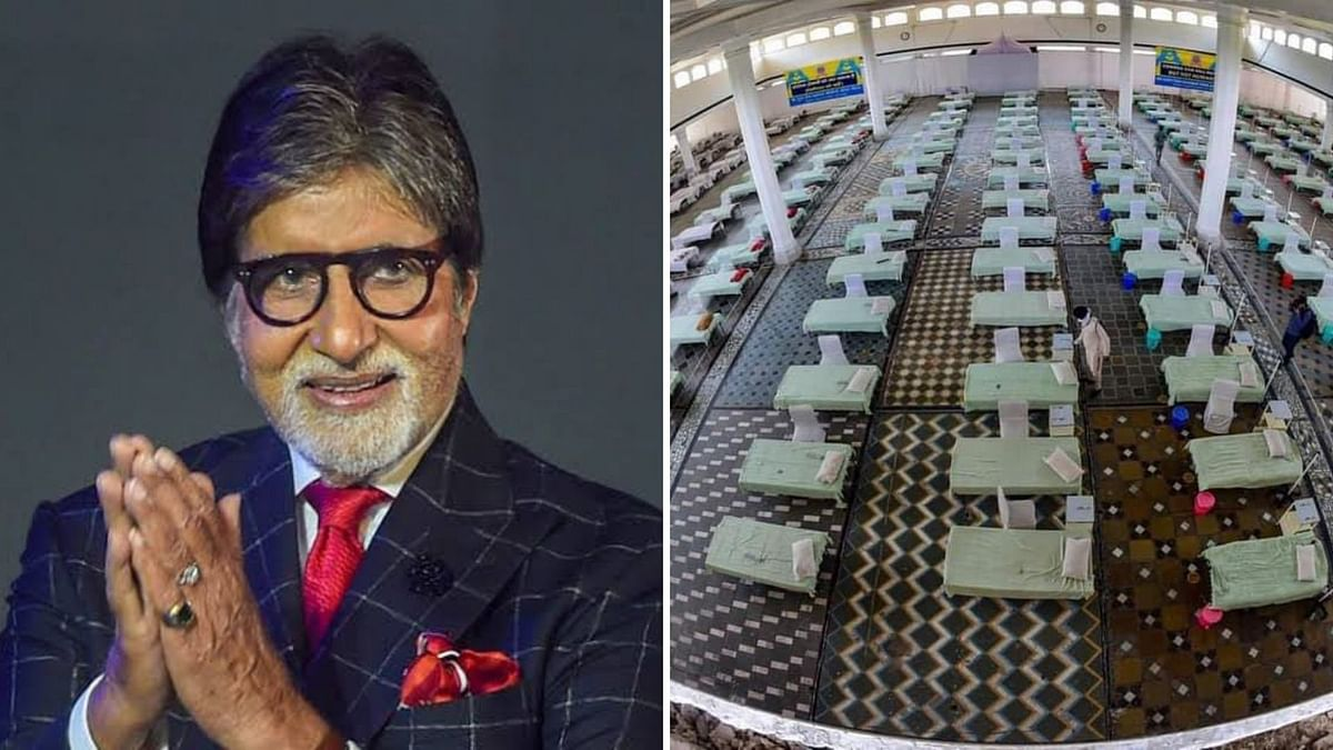 """<div class=""""paragraphs""""><p>Amitabh Bachchan has contributed to a COVID-care facility in Delhi.&nbsp;</p></div>"""