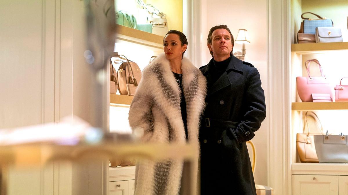 Still from Netflix series <i>Halston</i> featuring Ewan McGregor.
