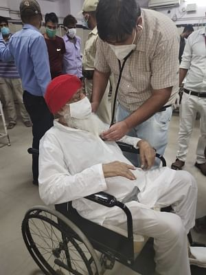 """<div class=""""paragraphs""""><p>Rape-convict Asaram was shifted to ICU in Jodhpur after testing Covid positive, but was denied medical bail.</p></div>"""