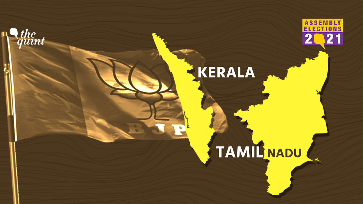In Tamil Nadu and Kerala BJP's vote share dipped in 2021 Assembly Election.