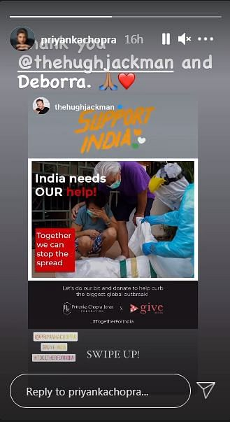Hugh Jackman Urges Fans To Support India During COVID