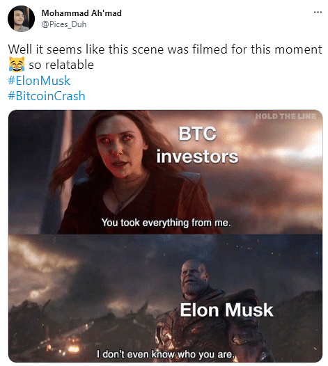 Twitter Floods With Memes As Bitcoin Other Cryptos Plunge