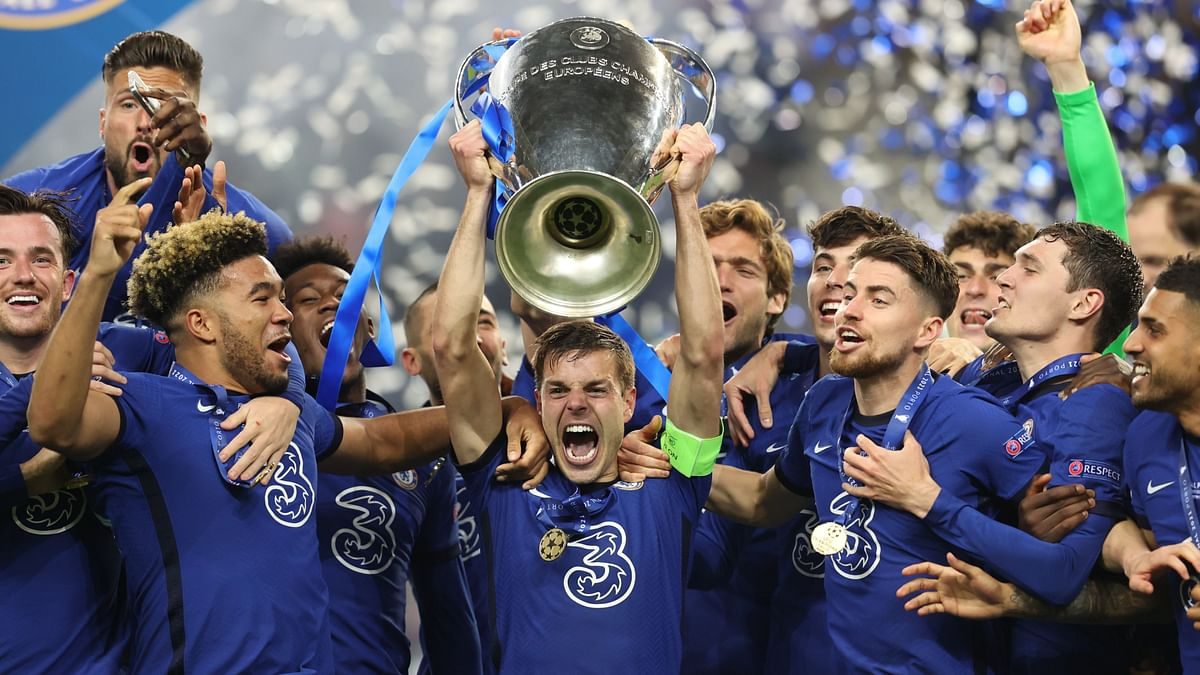 Chelsea won their second UEFA Champions League title after defeating Manchester City 1-0 in Porto.