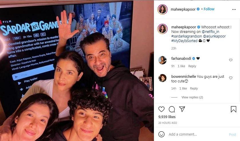 Malaika, Janhvi, Maheep Praise Arjun Kapoor's Sardar Ka Grandson