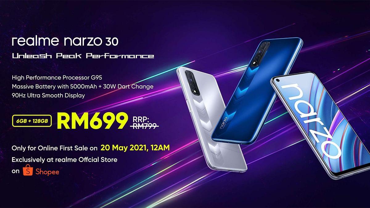 Realme Narzo 30 Launches in Malaysia, Check Price, Specification