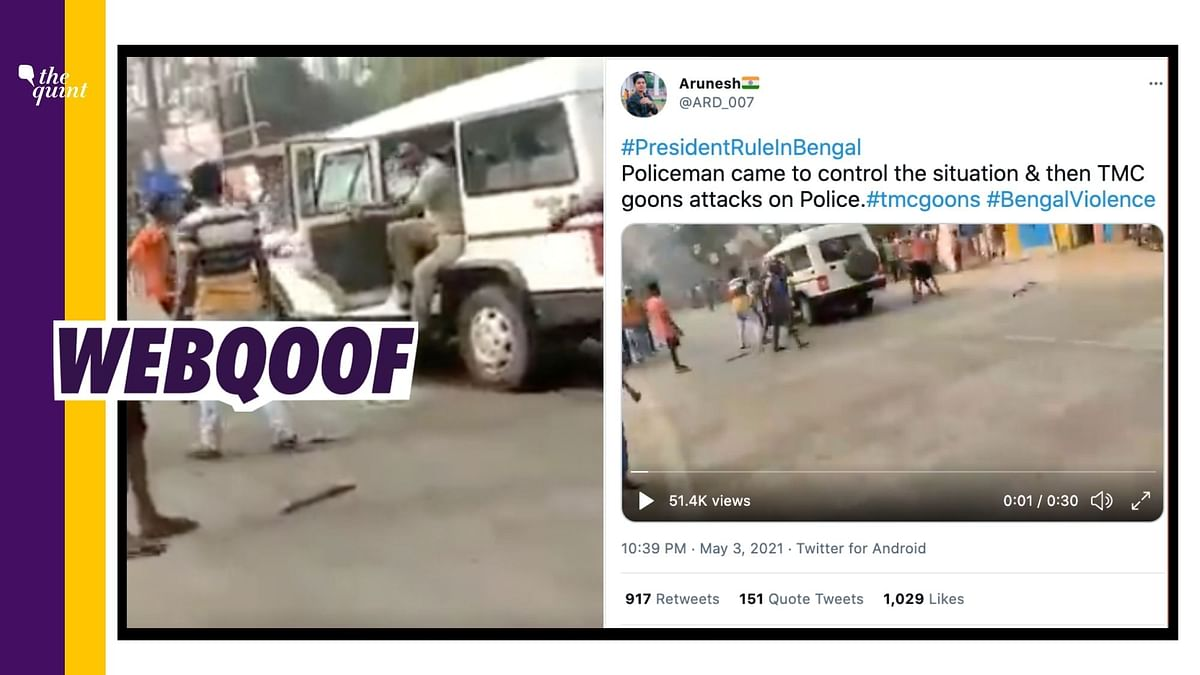 Video From Odisha Falsely Shared as TMC Workers Attacking WB Cops