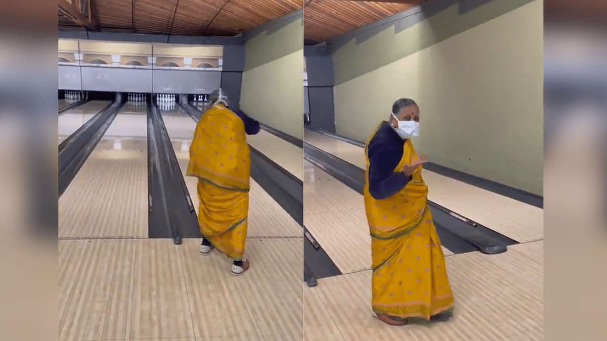 """<div class=""""paragraphs""""><p>Watch: This Dadi Bowling a Strike in a Saree Will Steal Your Heart</p></div>"""
