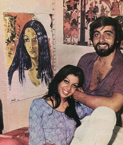 "<div class=""paragraphs""><p>Kabir Bedi with his first wife Protima</p></div>"