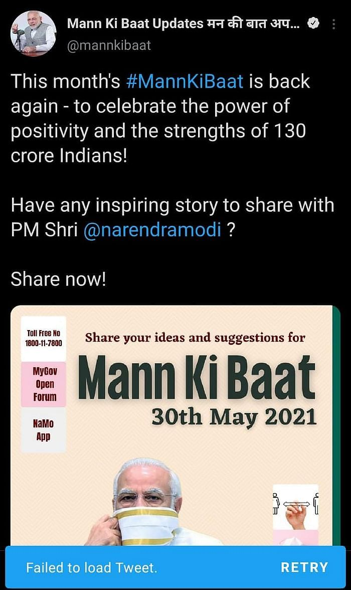 Lack of 'Positivity' or Did PM Fail to Read India's Mann Ki Baat?