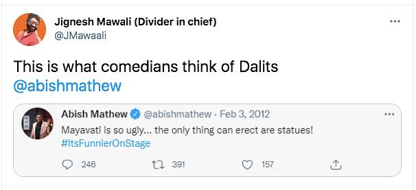 'Arrest Abish Mathew' Trends As Old Tweet On Mayawati Resurfaces