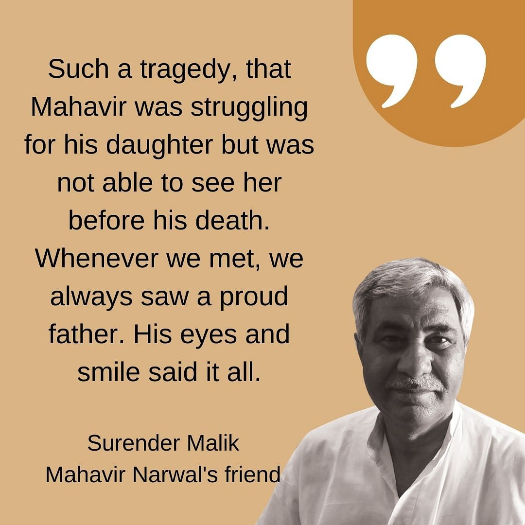 Malik, who is also the state secretary of CPIM-M, remembers the exact moment that the call was taken to get hospitalise Mahavir.