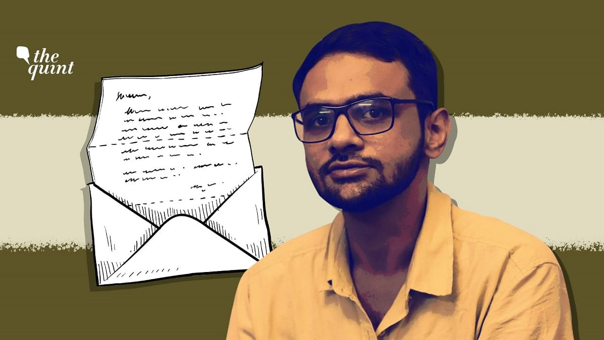 The Quint Reads Umar Khalid's Letter From Tihar Jail