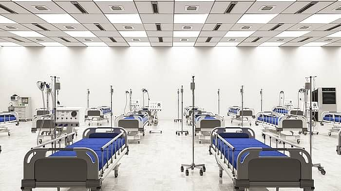 Image of ICU beds used for representational purposes.