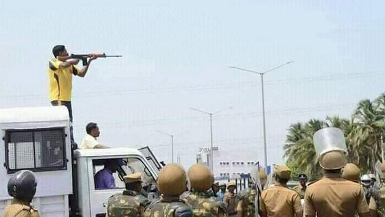 In the Thoothukudi Sterlite violence, 13 civilians were killed in police firing, and more than 100 people were injured.
