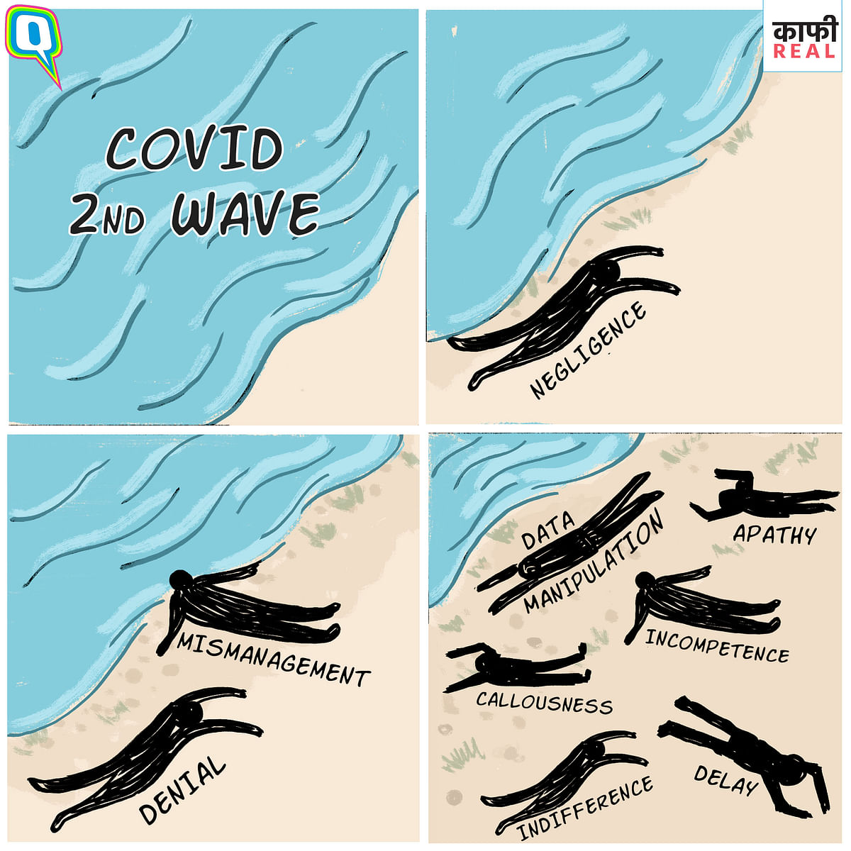 Apathy, Indifference to Deaths Amid COVID 2nd Wave is 'Kaafi Real'