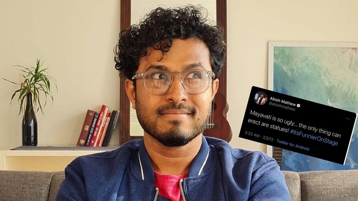 "<div class=""paragraphs""><p>Abish Mathew's tweet on Mayawati has resurfaced online.</p></div>"
