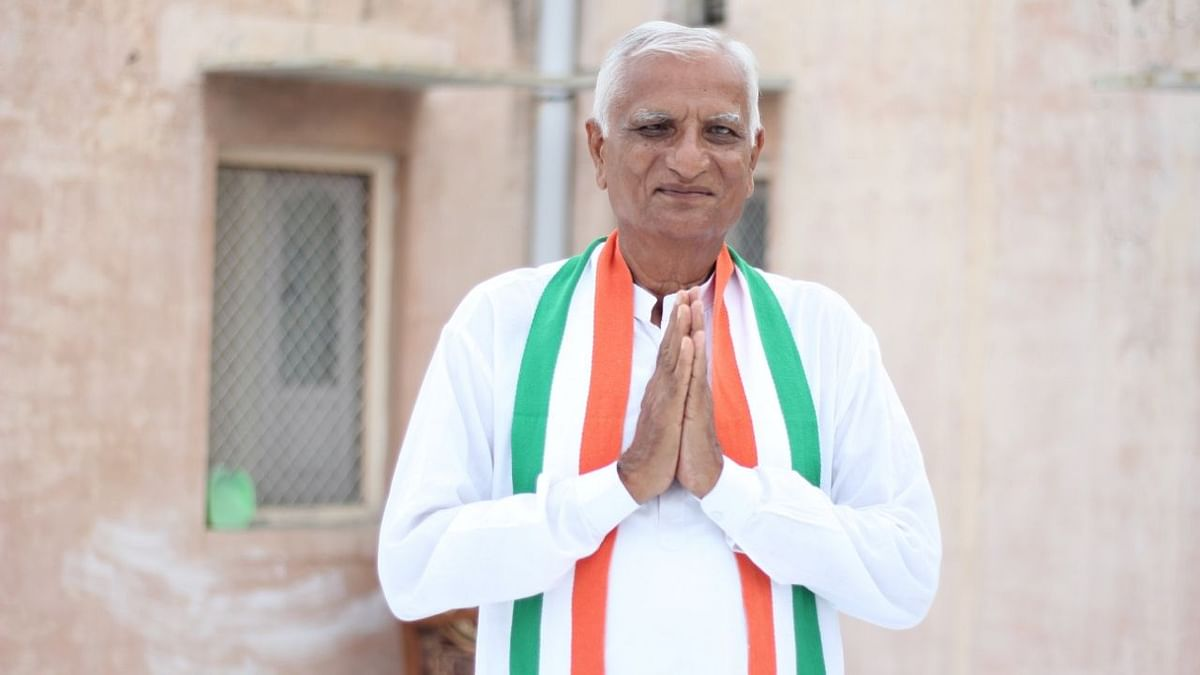 Congress MLA Hemaram Choudhary said he will reveal the reason once his resignation letter is accepted.