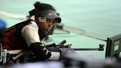Ace shooter Tejaswini Tops MQS Round in 50m Rifle Prone