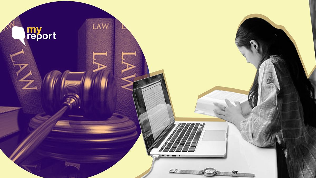 Second-year law student helps COVID affected students with college assignments.