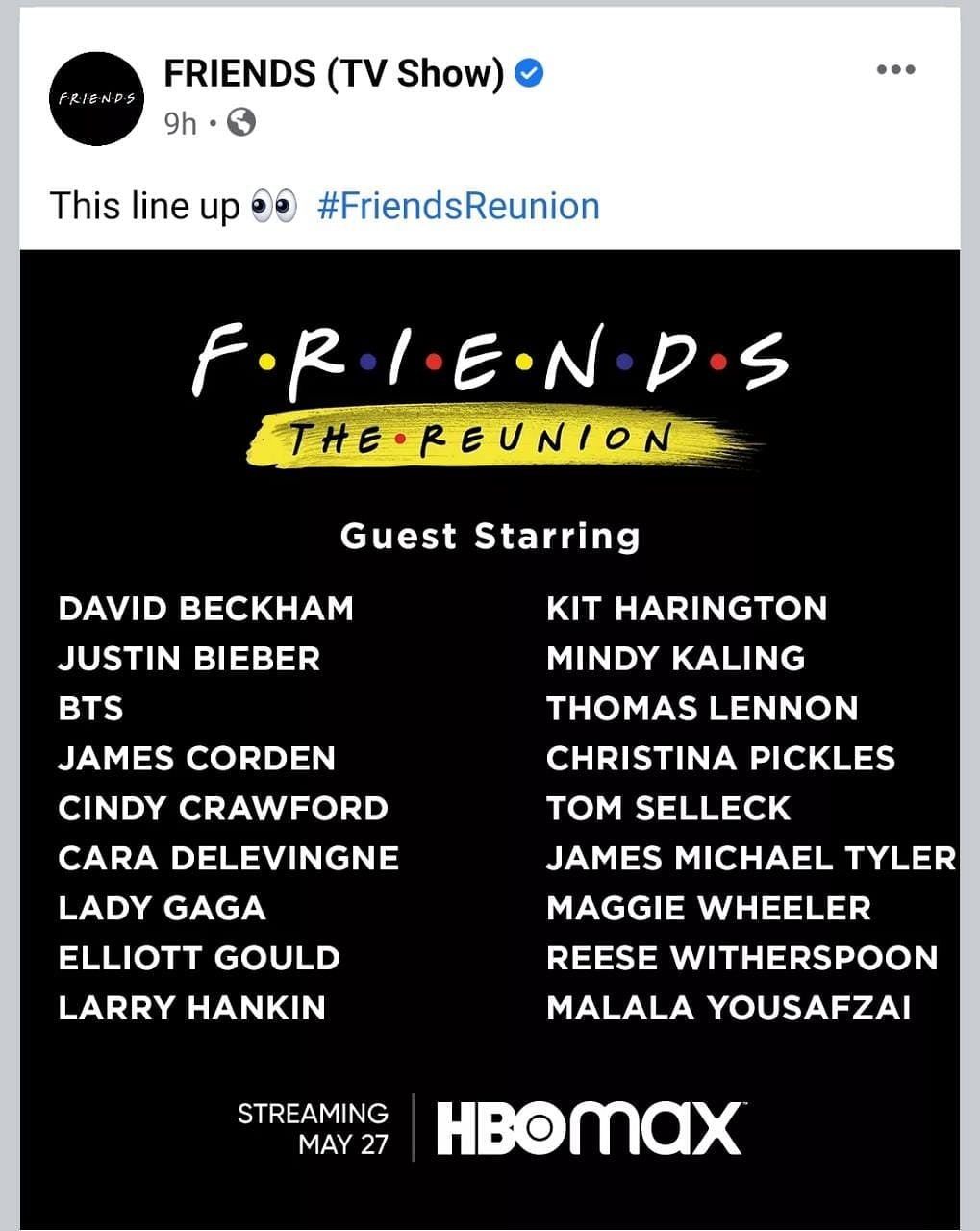 'Friends Reunion' Special Gets Release Date; Watch Teaser