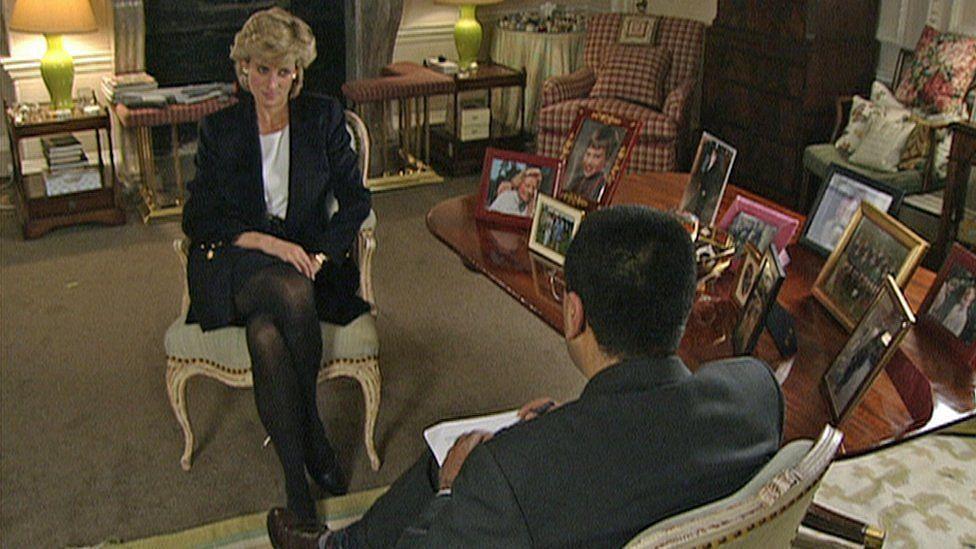 Journalist Martin Bashir interview with Princess Diana in 1995