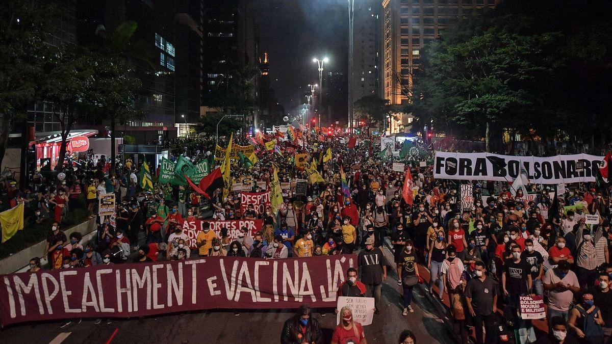 Brazil Sees Mass Protests Demanding Prez Bolsonaro's Impeachment