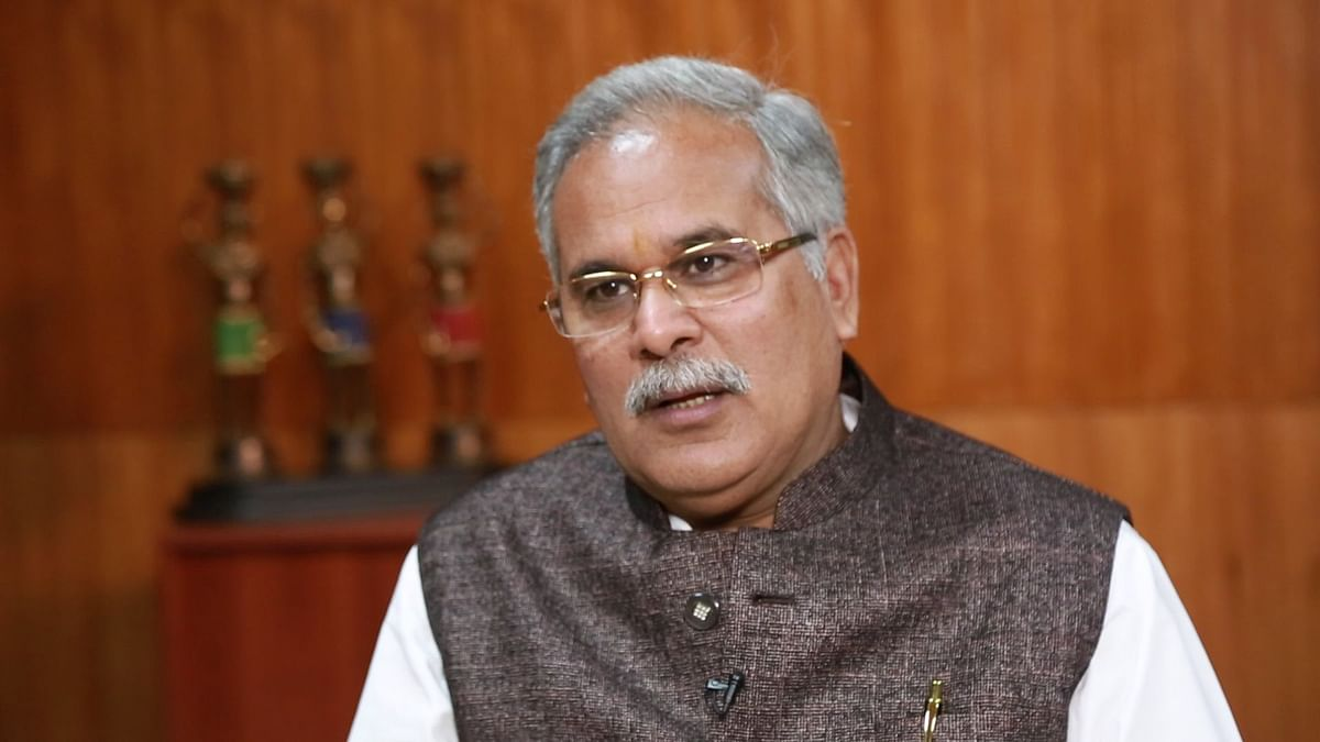NSO Officials Came to Chhattisgarh Under BJP Rule: CM Bhupesh Baghel