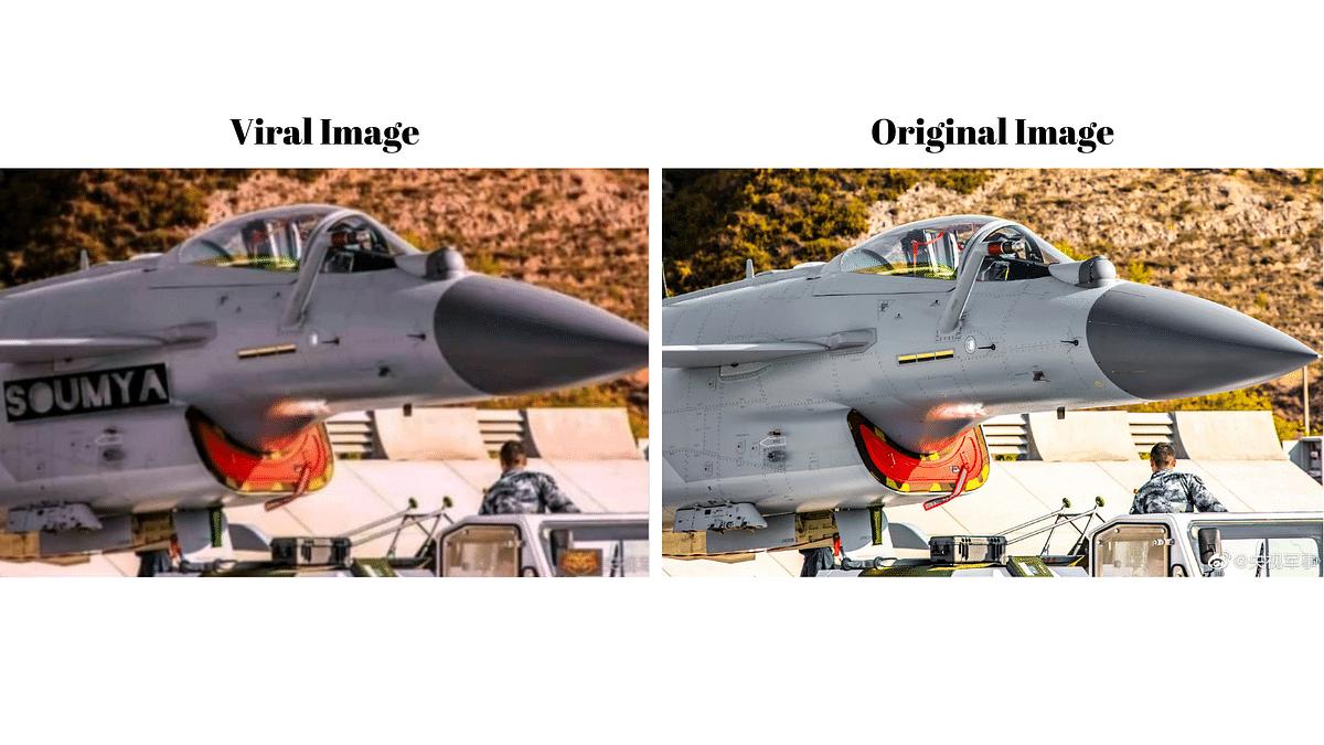 "<div class=""paragraphs""><p>Comparison of the original image with the viral image.&nbsp;</p></div>"