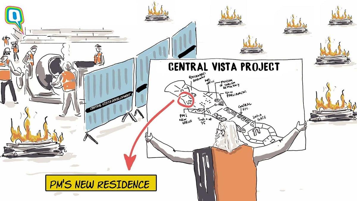 Modi Govt's Resolve for Central Vista Project Is 'Kaafi Real'