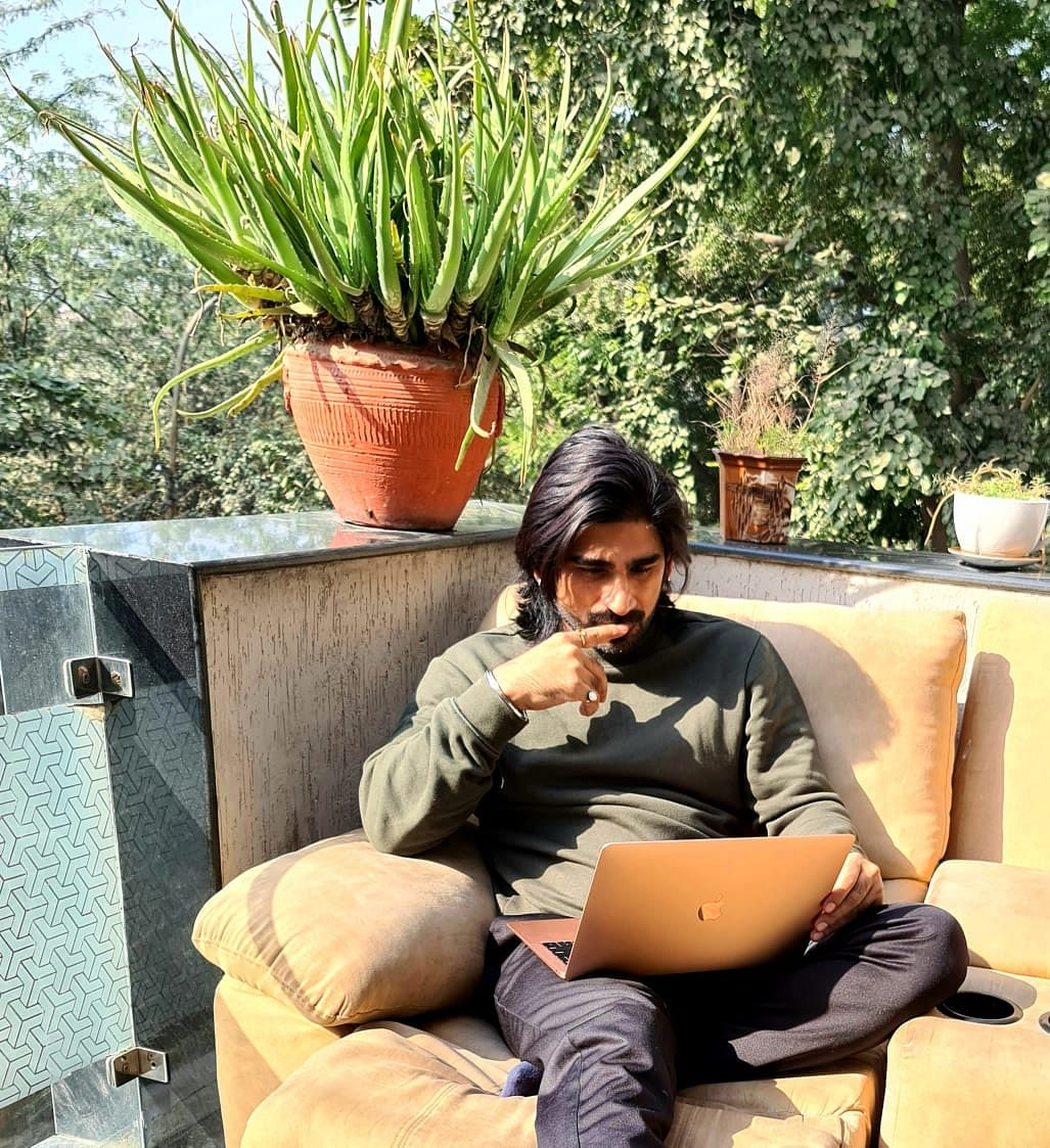 Writer Sharad Tripathi is dealing with anxiety due to the work pressure.