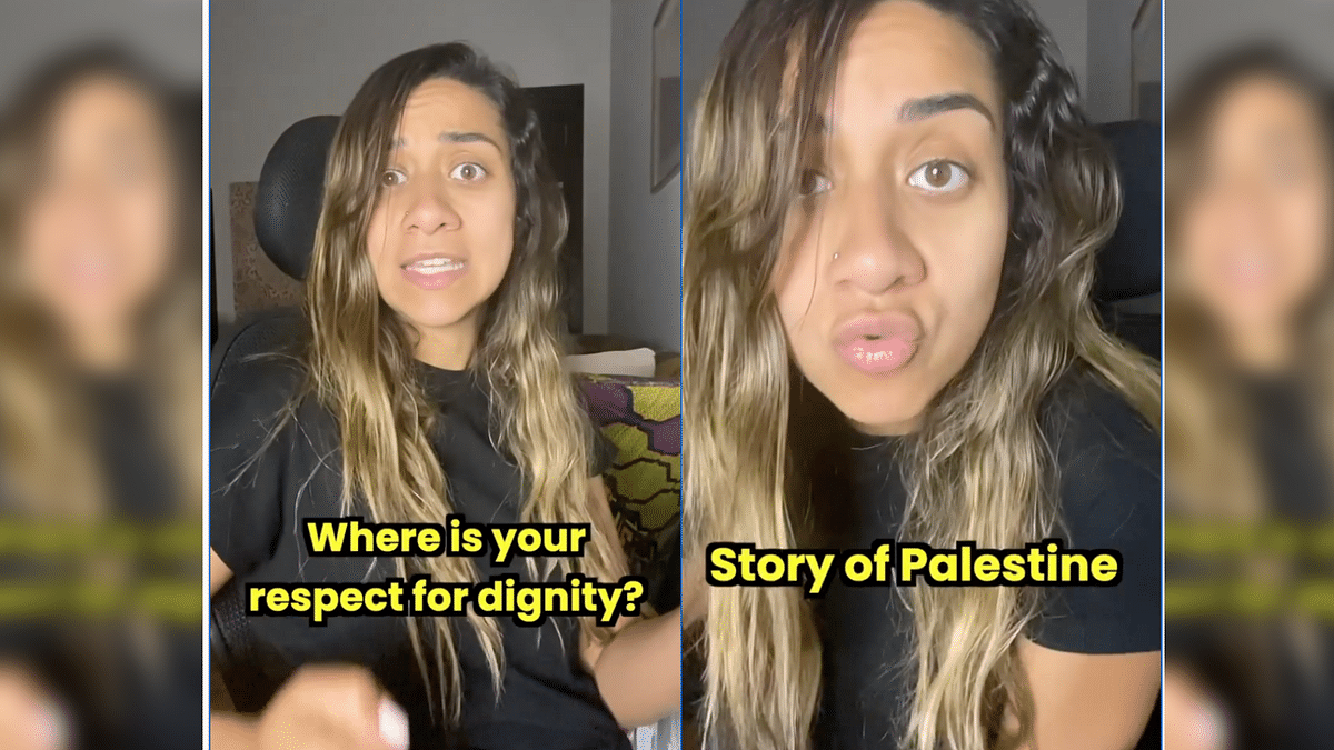 Watch: User Narrates 'Story of Palestine' in Viral TikTok Song