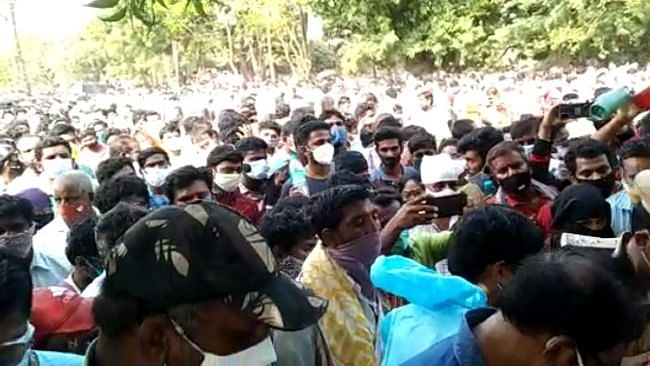 Crowd Gathers as Andhra MLA Bats for 'Herbal COVID Medicine'