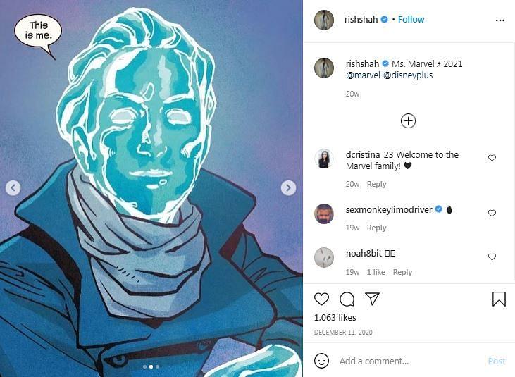 Ms Marvel: Leaked Pics Show Iman Vellani in Comic-Accurate Costume
