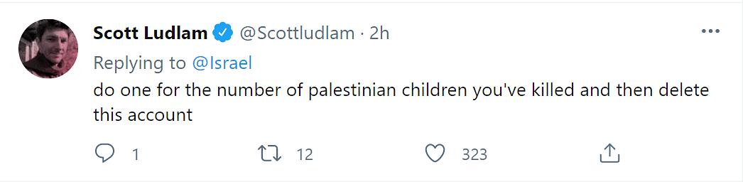 Deranged, Vile: Twitter on Israel's Post Following Gaza Air Strike