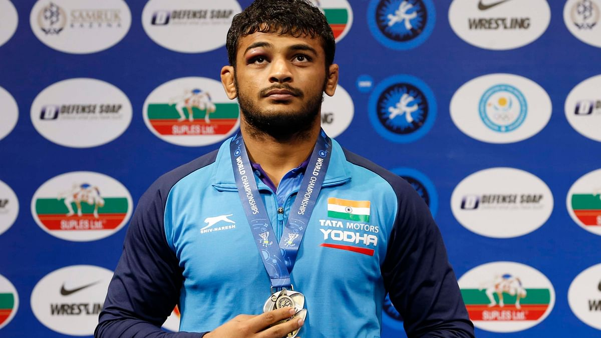 Deepak Punia had a minor injury that resurfaced prior to his opening bout at Poland Open.