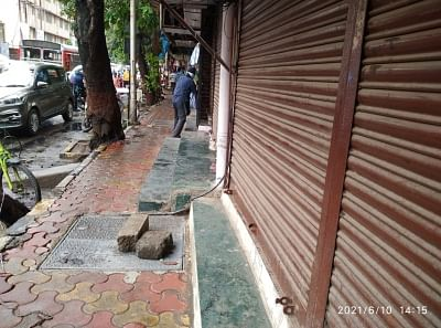 Manhole at Bhandup which was replaced after the incident.
